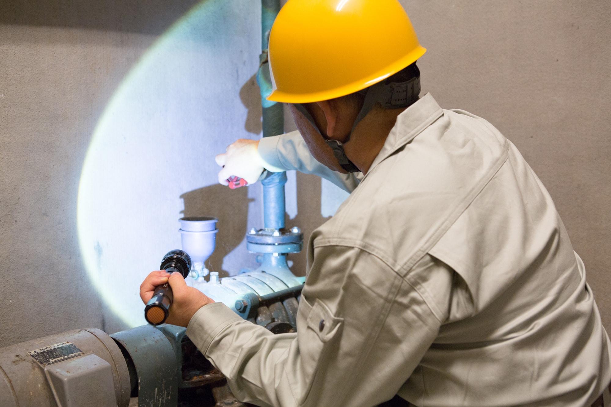 幹線・動力制御設備の写真