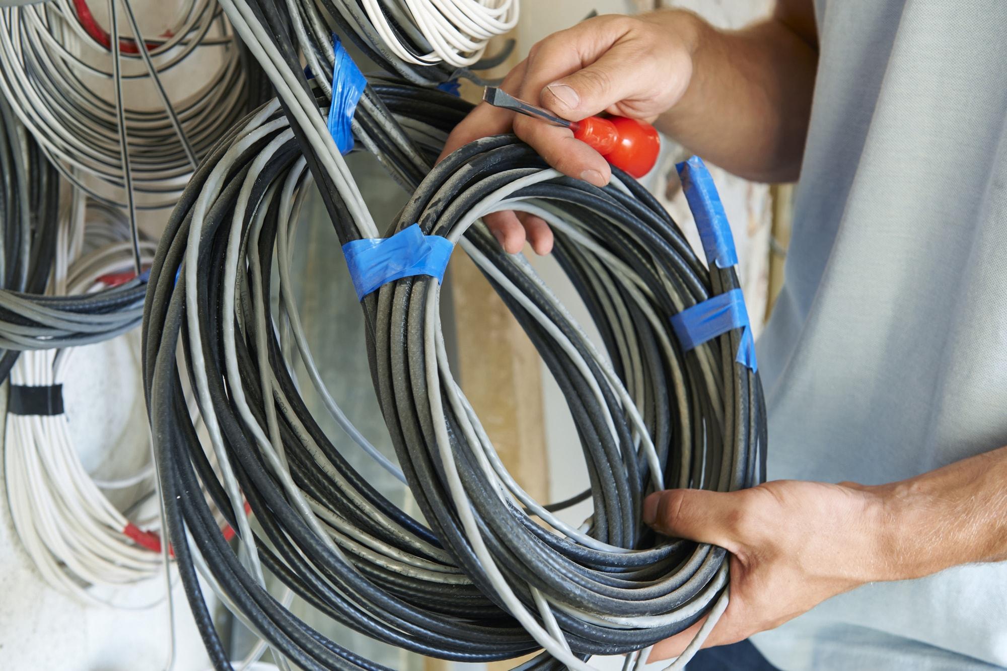 弱電設備の写真